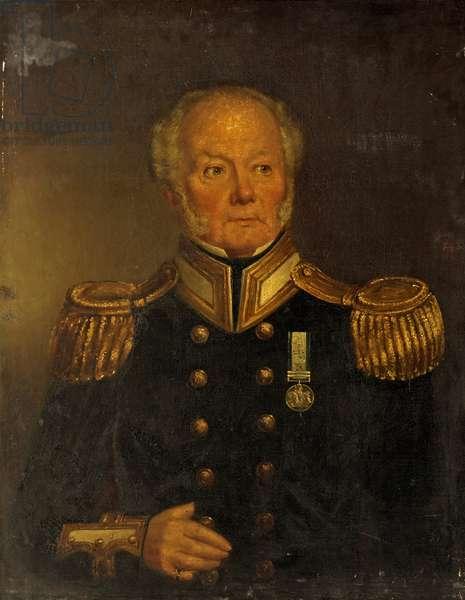 Captain Patriarche, Royal Navy, c.1850 (oil on canvas)
