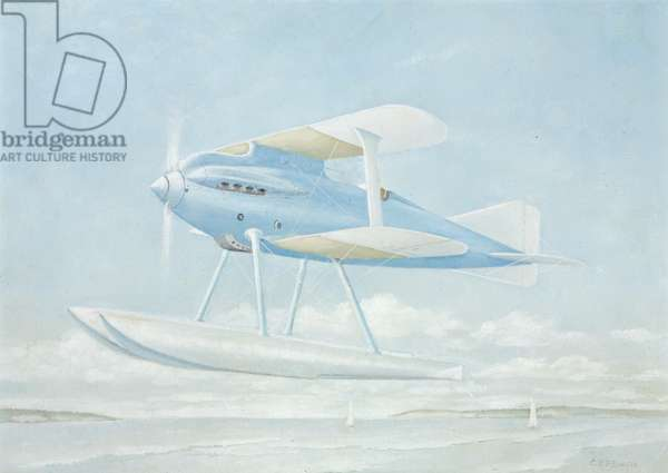 Gloster Aircraft, Gloster III, 1924-62 (oil on board)