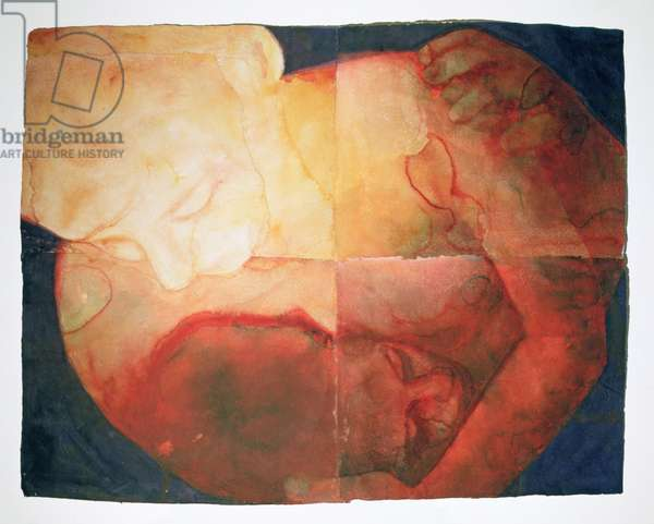 Wound, 2004 (w/c on handmade Indian paper)