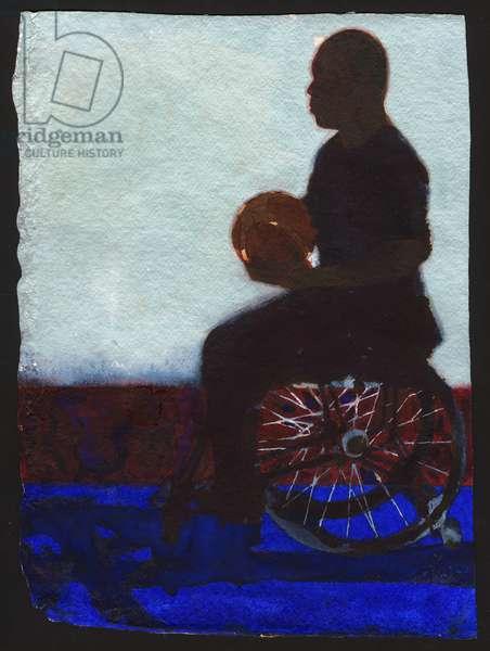Wheelchair Basketball, 2011 (w/c)