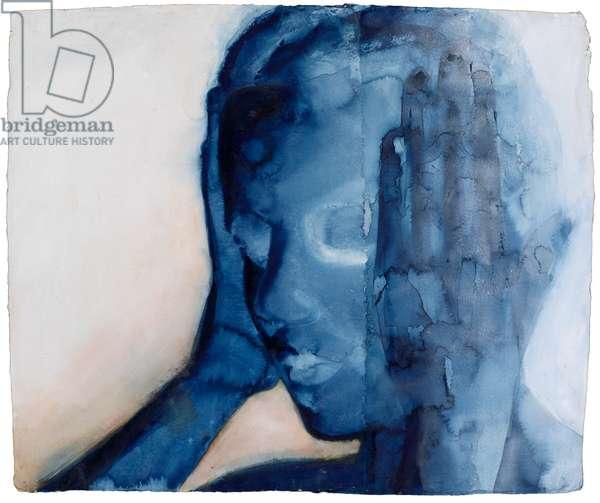 White Noise, 2007 (w/c on handmade indian rag paper)