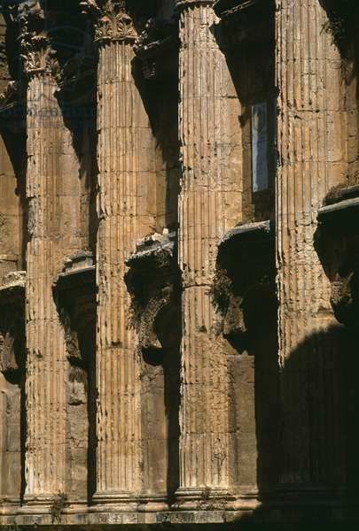 Temple of Bacchus, detail, High Imperial Period (27 BC-395 AD)