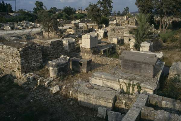 View of the Roman cemetery (photo)