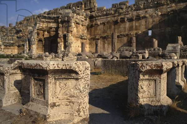 Sanctuary of Jupiter Heliopolitanus, The Great Court, High Imperial Period (27 BC-395 AD) (photo)
