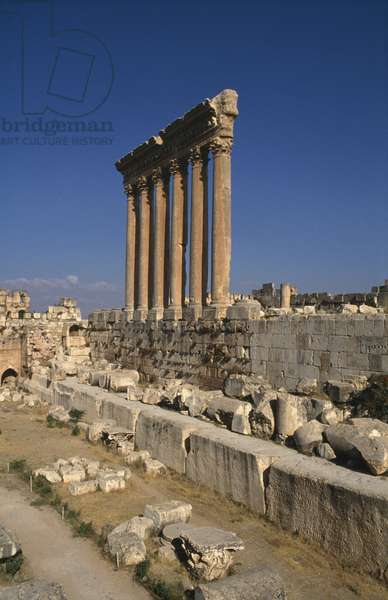 Temple of Jupiter, High Imperial Period (27 BC-395 AD) (photo)