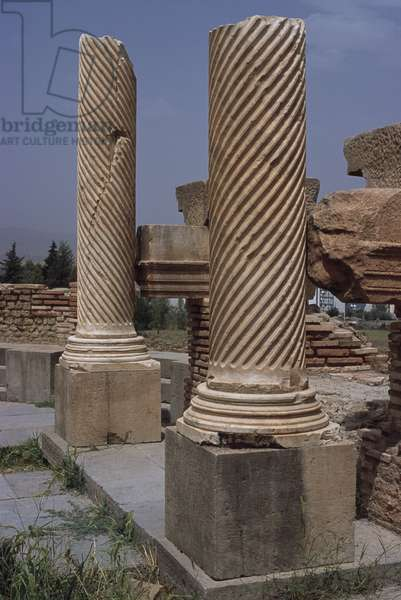 View of the Library, c.100 AD, High Imperial Period (27 BC-395 AD)