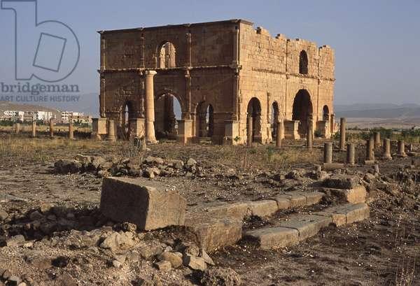 View of the pretorium (photo)
