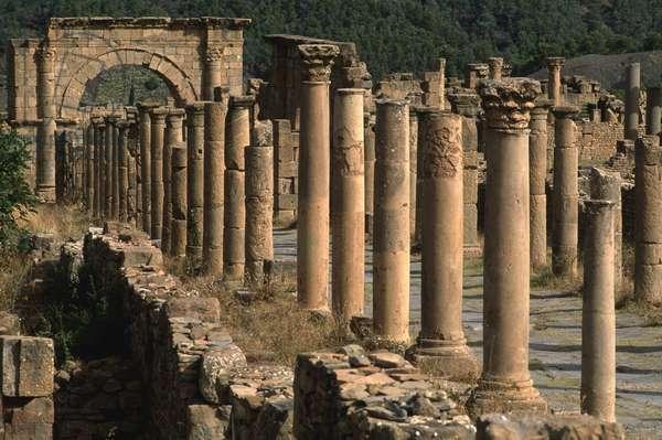 Cardo, High Imperial Period (27 BC-395 AD)