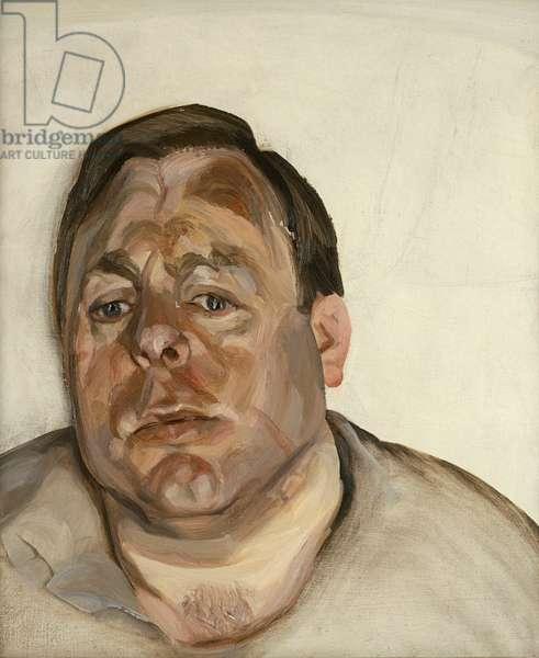 A Man, 1965 (oil on canvas)