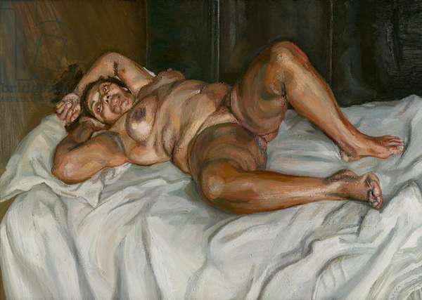 Naked Solicitor, 2003 (oil on canvas)