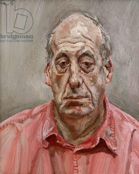 Francis Wyndham, 1993 (oil on canvas)