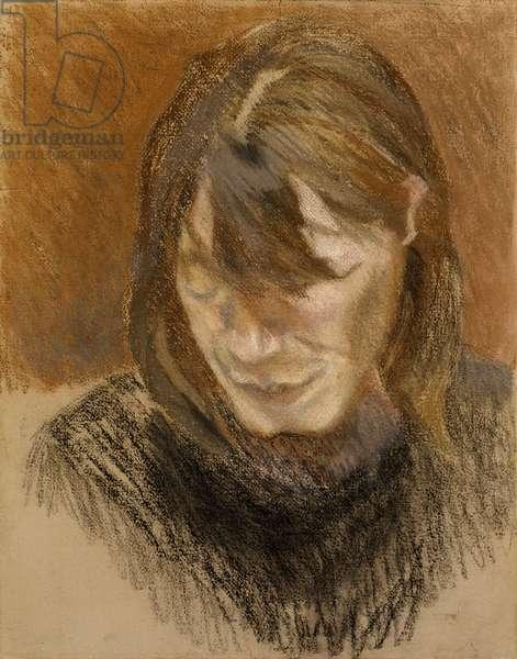 Susanna, c.1980 (pastel on paper)