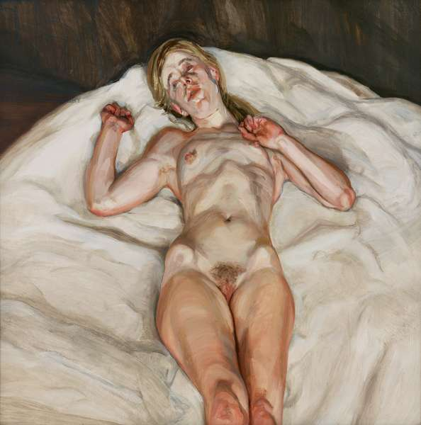 Naked Girl, 1966 (oil on canvas)
