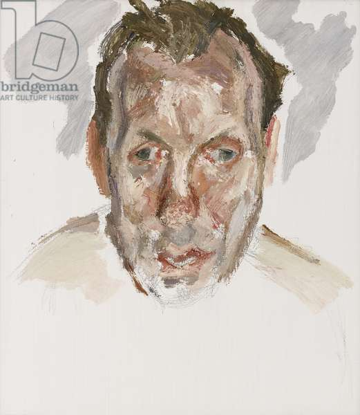 Unfinished Portrait of David Dawson, 2008 (oil on canvas)