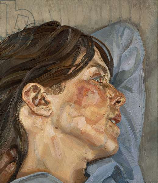 Woman in Profile, 1980-81 (oil on canvas)
