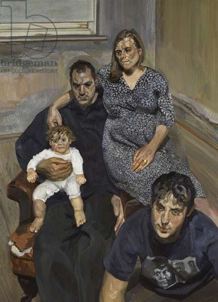The Pearce Family, 1998 (oil on canvas)