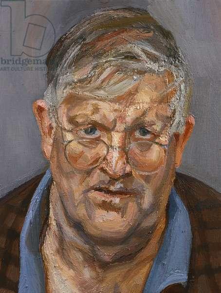 David Hockney, 2002 (oil on canvas)