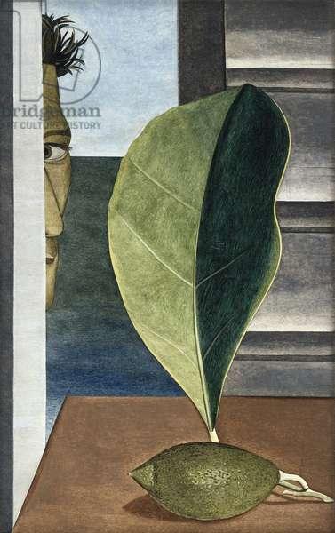 Still Life with Green Lemon, 1947 (oil on panel)