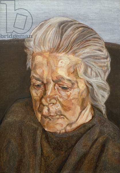 The Painter's Mother IV, 1973 (oil on canvas)