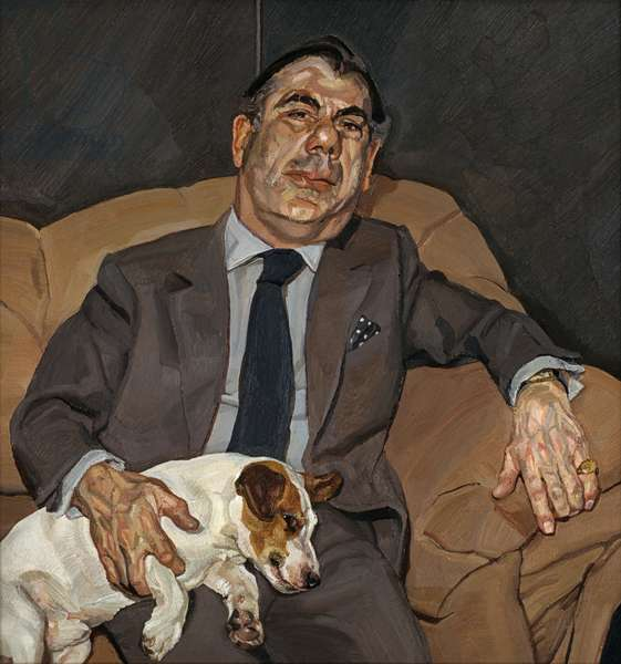 Guy and Speck, 1980-81 (oil on canvas)