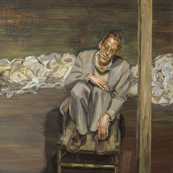 Red Haired Man on a Chair, 1962-63 (oil on canvas)