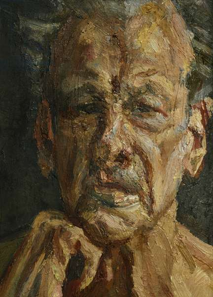 Self-Portrait, Reflection, 2003-04 (oil on canvas)