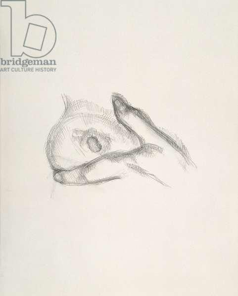 Nipple, 2001 (pencil on paper)