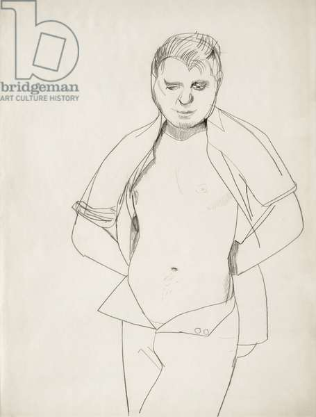 Francis Bacon, 1951 (pencil on paper)