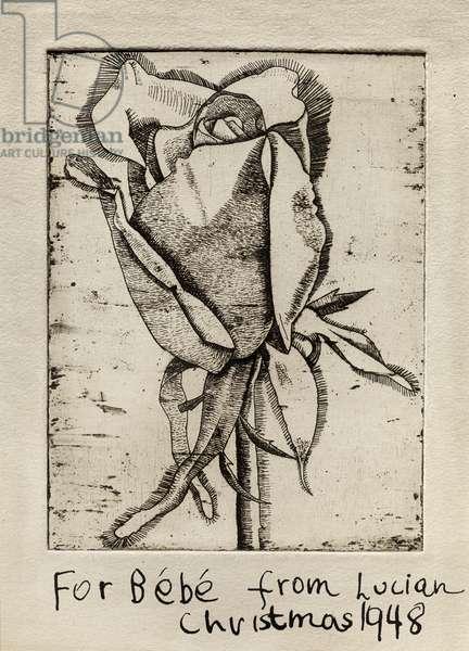 Rose, 1948 (etching)