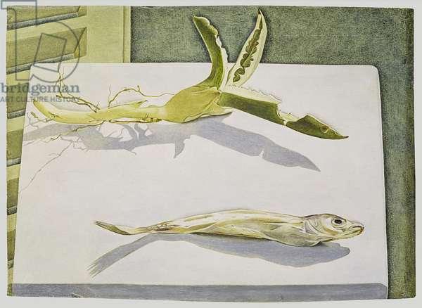 Still Life with Aloe, 1949 (oil on panel)