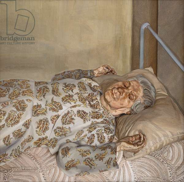 The Painter's Mother Resting I, 1975-76 (oil on canvas)