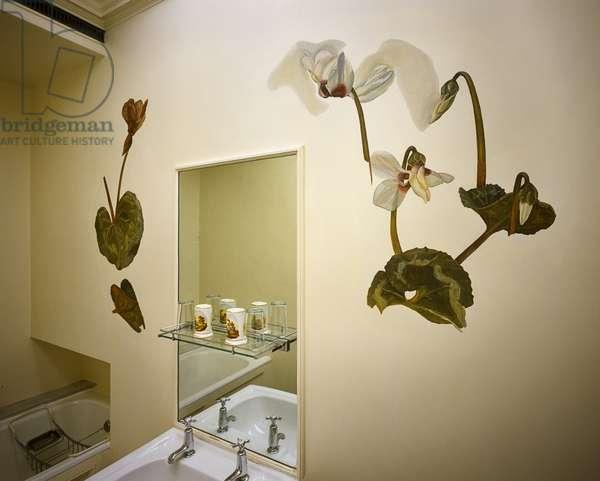 Cyclamen Bathroom, 1959 (mural)