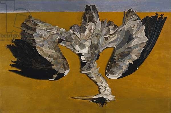 Dead Heron, 1945 (oil on canvas)