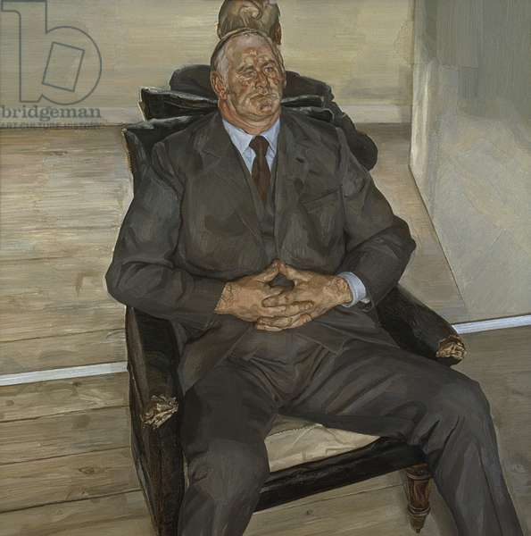 The Big Man, 1976-77 (oil on canvas)