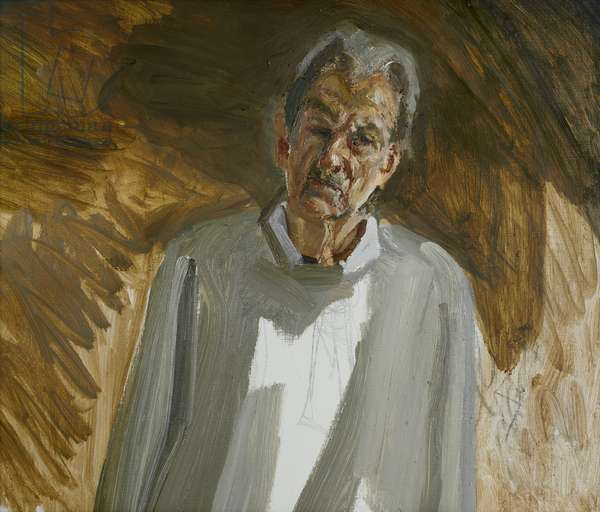 Portrait Fragment, 2002 (oil on canvas)