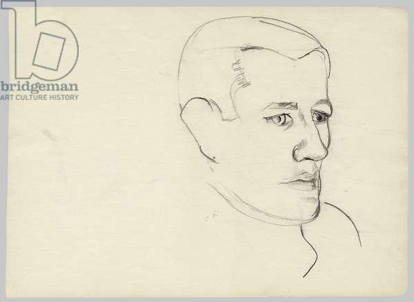 Waldemar Hansen, 1940s (conte on paper)