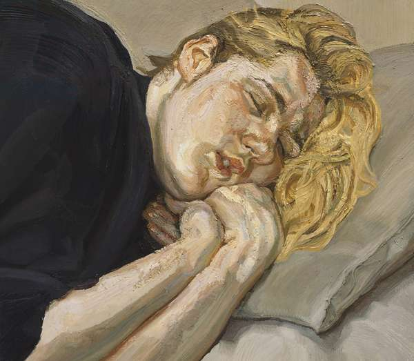 Susie, 1988-89 (oil on canvas)