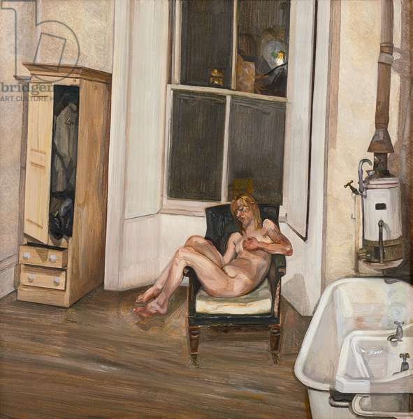 Night Interior, 1969-70 (oil on canvas)
