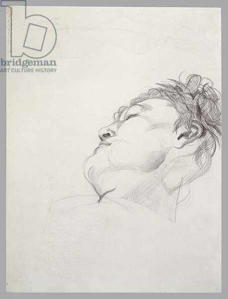 Head Resting, late 1970s (pencil on paper)