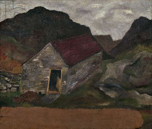 Welsh Landscape, 1939 (oil on canvas)