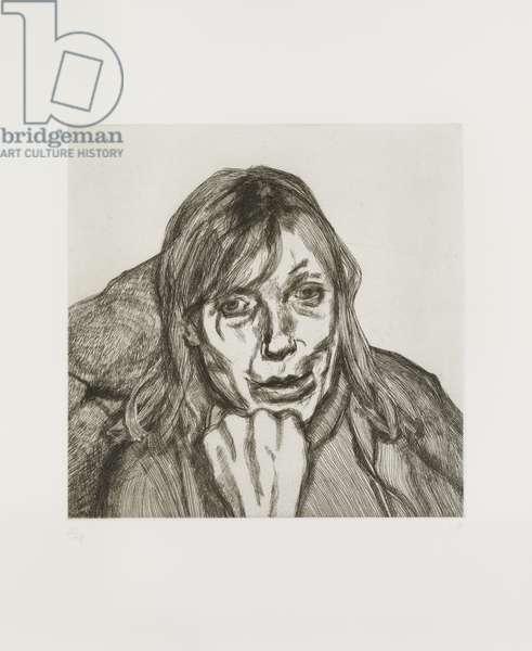 Susanna, 1996 (etching)