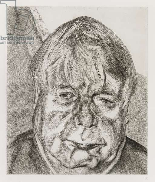 Donegal Man, 2007 (etching)