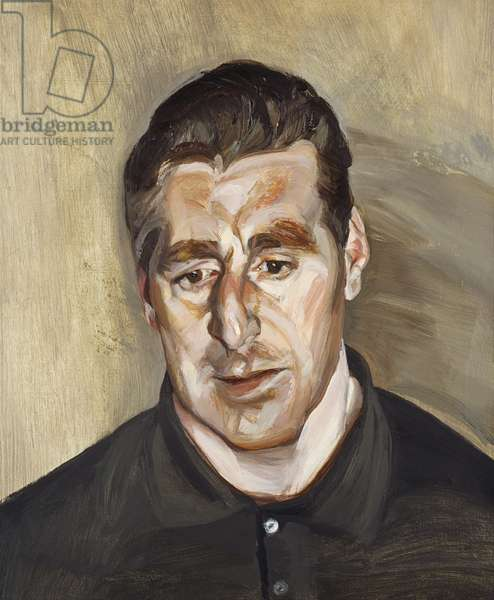 Head of a Man, 1966 (oil on canvas)