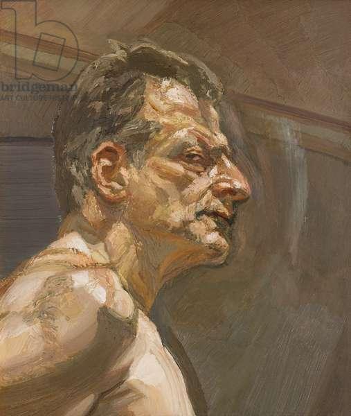 Reflection (Self Portrait) 1981-82 (oil on canvas)
