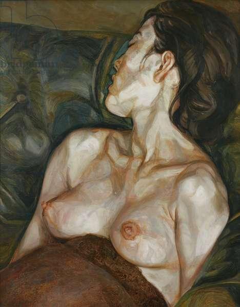 Pregnant Girl, 1960-61 (oil on canvas)