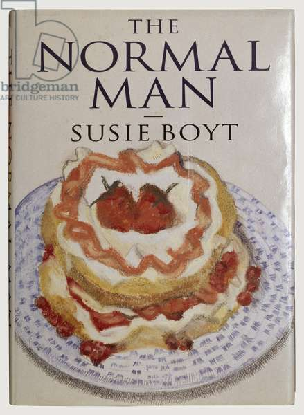 Book cover, 'The Normal Man' by Susie Boyt, 1995 (colour litho)