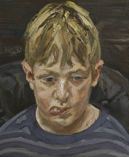 Albie, 2003-04 (oil on canvas)