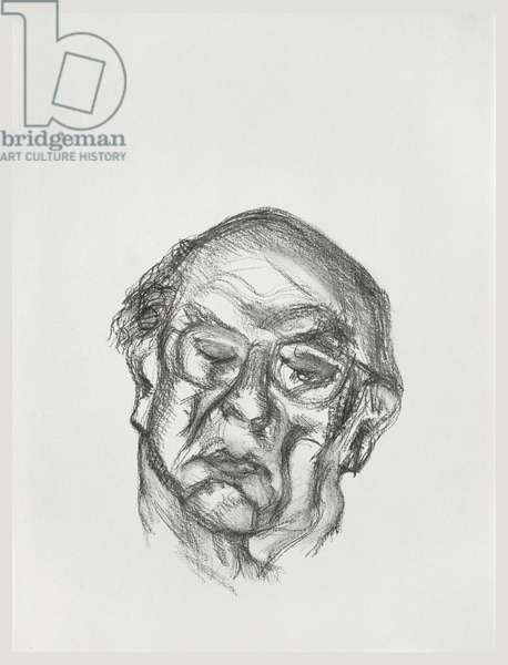 Sir Isaiah Berlin, 1997 (graphite on paper)