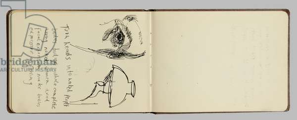 Page from a sketchbook