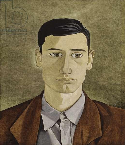 Head of a Greek Man, 1946 (oil on panel)